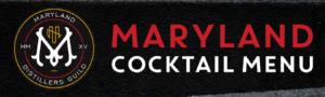 Maryland Cocktail Menu Header